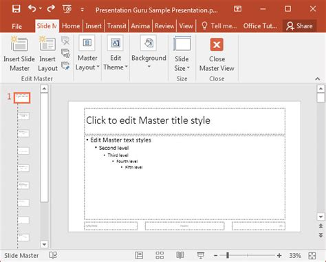 advanced features of powerpoint 2016 presentation guru advanced features of powerpoint 2016 presentation guru