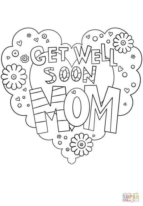 Free Get Well Coloring Pages Coloring Pages Get Well Coloring Pages Printable by Free Get Well Coloring Pages