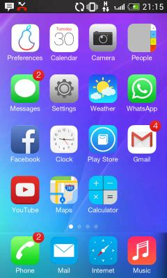 ipear sd ios launcher v1 free best iphone launcher for android