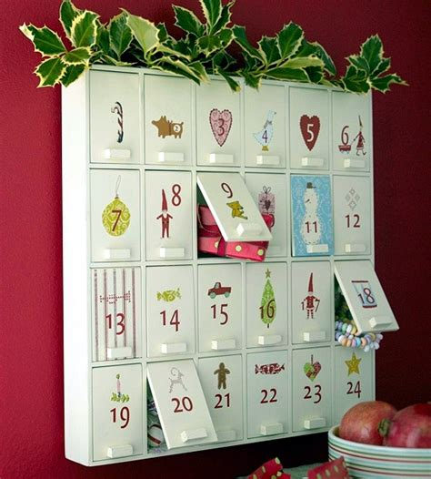 advent calendar paper crafts ideas that allow children