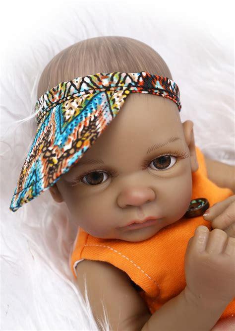 black newborn doll 11black american reborn baby dolls silicone