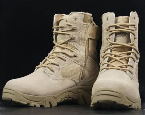 Delta Tactical Boot 1296 delta 511 army boot desert tactical boots genuine leather shoes