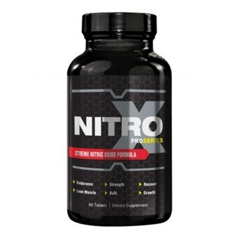 nitro x supplement proseries nitro x gain and growth supplement 60