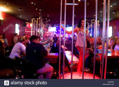 Germany Hamburg St Pauli The Dollhouse Strip Club Stock Photo Royalty Free Image