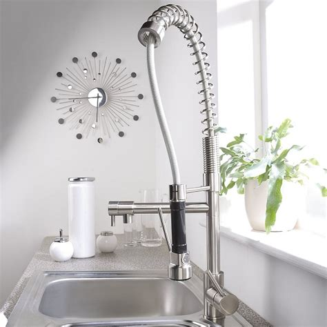 Kitchen Faucets Pull Out Spray by Cleaning A Kitchen Faucet Sprayer Absolute Plumbing In