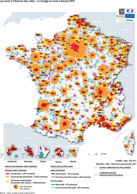 France   aires urbaines (2010) ? Carte ? PopulationData.net
