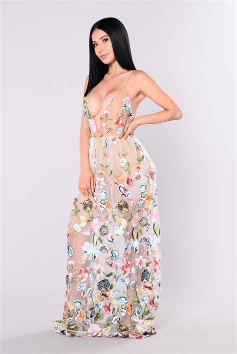 Maxi Dress Novia gala maxi dress ivory