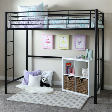 Loft Bedroom Furniture Bedroom Loft Beds With Home Loft Concepts Metal Loft Bed And Elfa Closet Systems Also Grey