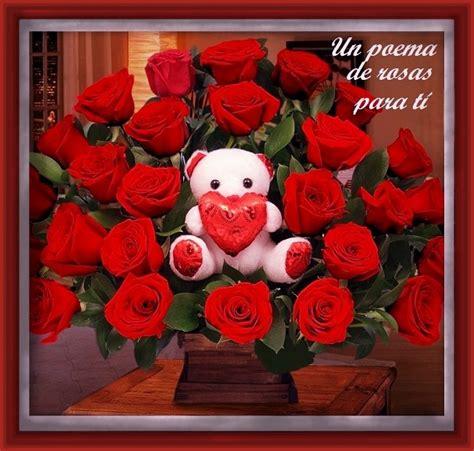las mas hermosas fotos de rosas con poemas de amor imajenes bonitas para was con poema poemas de amor con