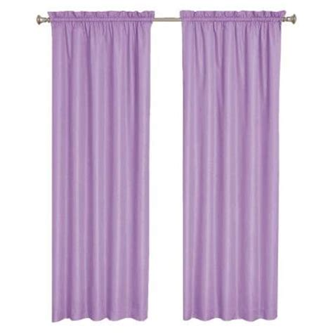 purple eclipse curtains eclipse wave blackout purple curtain panel 63 in length