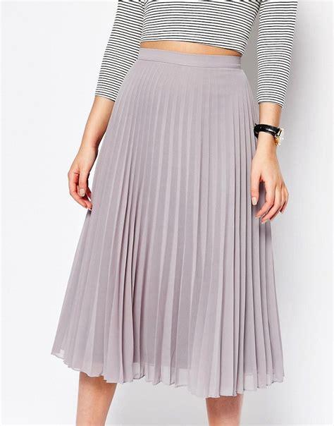 Chiffon Midi Skirt new look chiffon pleated midi skirt what to wear