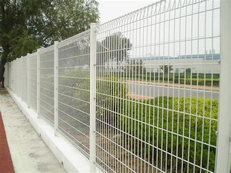 steel wire fence galvanized powder coated welded mesh fence panels
