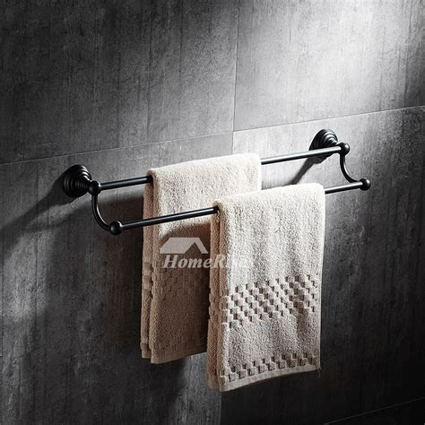 black towel racks bathroom black towel rack wall mount oil rubbed bronze bathroom