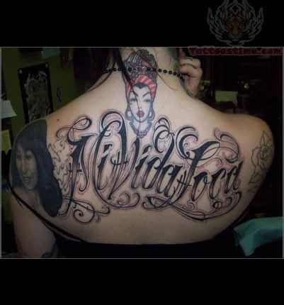 mi vida loca tattoo mi vida loca this font ink my 1