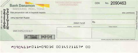 buat rekening bca atas nama orang lain cara mengisi cek bank dengan benar ini panduan lengkapnya