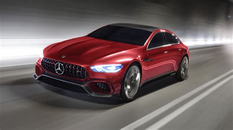mercedes amg concept mercedes amg gt four door concept revealed photos 1 of 17