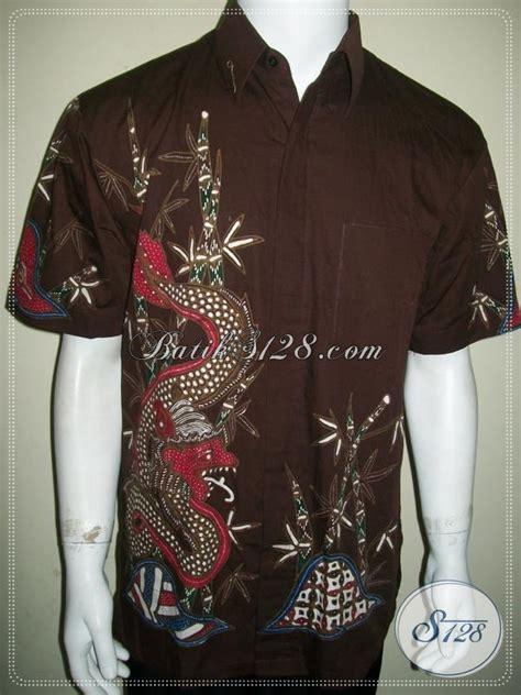 Kemeja Orions Modis Keren jual kemeja batik tulis motif naga untuk pria til modis keren serta gaul di kantor baju