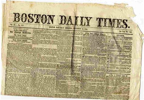 the latest boston news bostoncom boston daily times newspaper dec 12 1840 vol ix no 1377