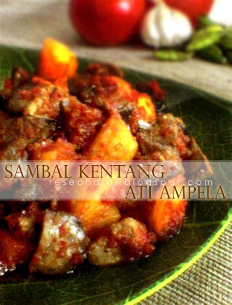 cara membuat donat halal sambal kentang ati ampela resep halal