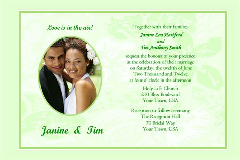 Inviting Words by Wedding Invitation Wording Wedding Invitation Template Sle