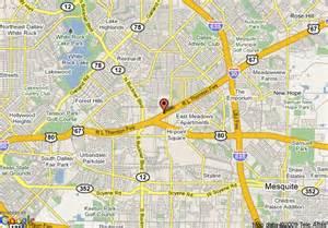 map of mesquite inn suites mesquite