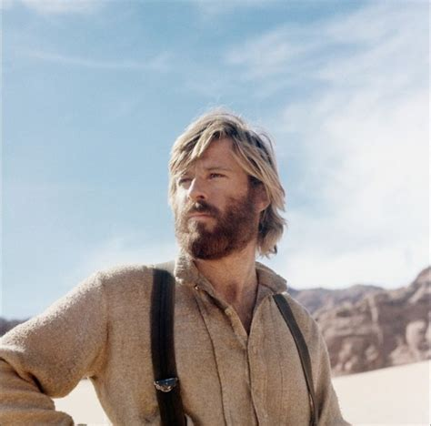 robert redford hair bearded robert redford so good looking in jerimiah