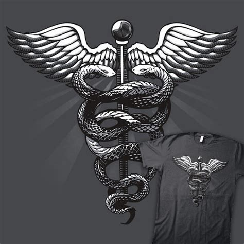 caduceus shirtoid