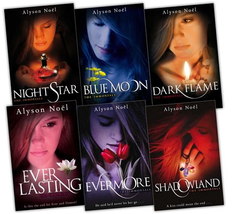 immortal in in book 3 the immortals collection alyson noel 6 books set pack ebay