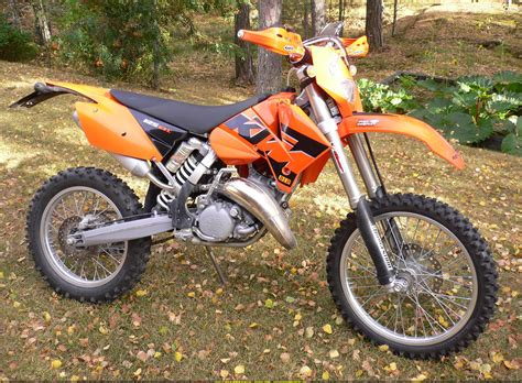Ktm 125 Sx 2005 2005 Ktm 125 Exc Pics Specs And Information