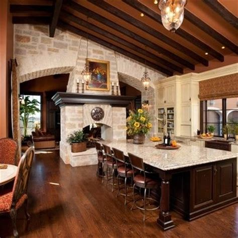 Kitchen With Fireplace Designs 7 Best Images About Fireplace On Pinterest