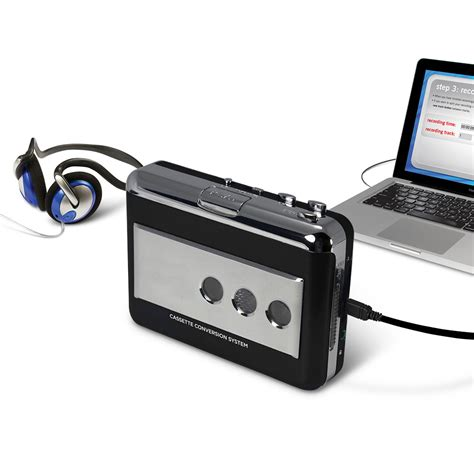 the best audio converter the best audio cassette to mp3 converter hammacher schlemmer