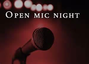 open mic night the roundup