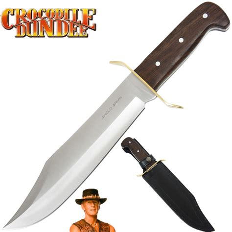 crocodile dundee sheath deluxe dundee bowie knife knifewarehouse