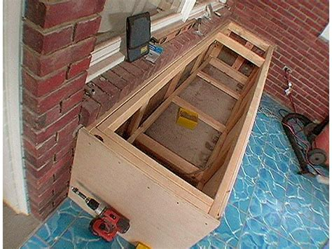 how to make a wooden storage bench seat how to build a storage bench how tos diy