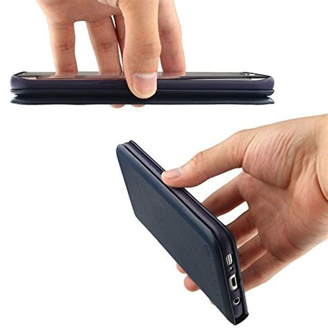 Nano Flip Cover Samsung Galaxy S7 Abu Abu nouske samsung galaxy s7 wallet with credit card