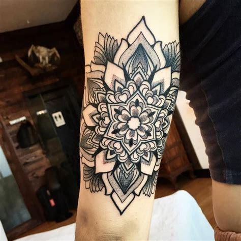 ornamental tattoo ornamental mandala by melow perez