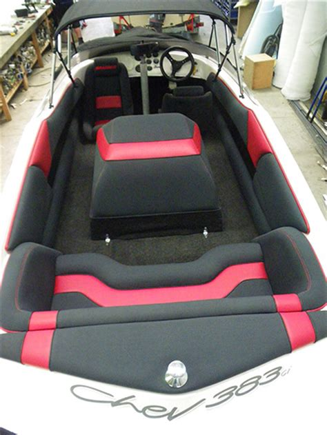 Ski Boat Upholstery by Seating Interiors Universal Upholstery