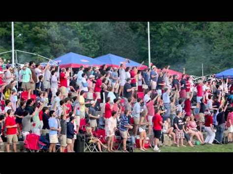 ole miss student section ole miss baseball home run shower youtube