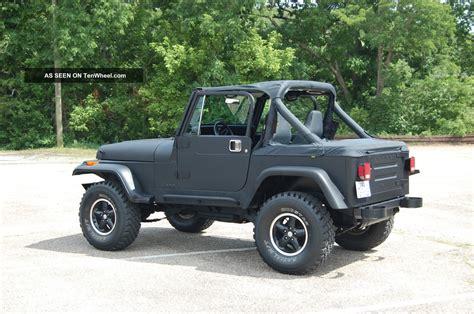 jeep islander 4 door 1988 jeep wrangler islander sport utility 2 door 4 2l
