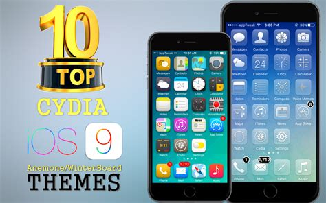 top 10 themes for iphone cydia themes iphone in cydia top 10 brand new cydia anemone