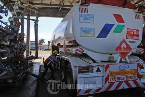 Minyak Lintah Bandung menteri esdm kunjungi terminal bahan bakar minyak bandung foto 3 1658455 tribunnews