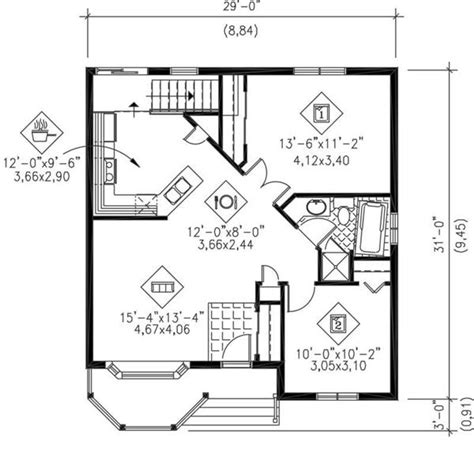 cottage floor plans small small house plans bungalow cottage house plans
