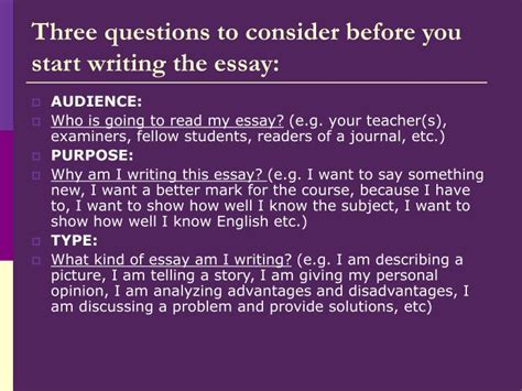 Before Writing An Essay by Ppt Writing Argumentative Essays Discussing Advantages And Disadvantages Expressing An