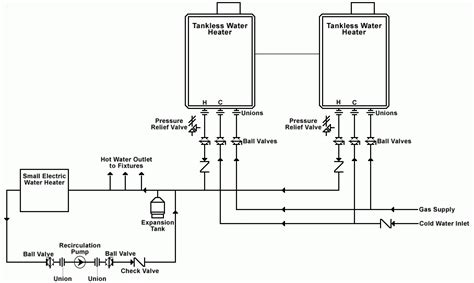 water pipe diagram water heater piping diagram plumbing and piping