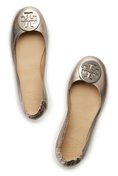 Minnie Flat White burch minnie metallic travel ballet designed to
