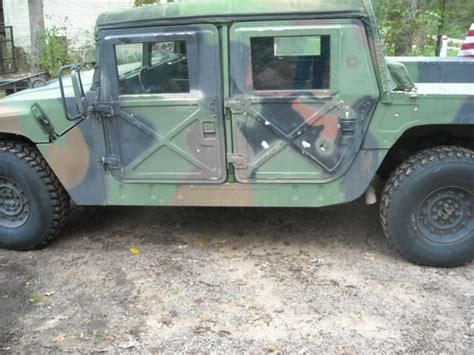 original military hummer humvee military m998 h1 all original 1993 hummer