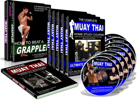 muay thai dvd the complete muay thai home study