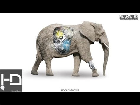 tutorial robot photoshop cs3 tutorial 140 how to design elephant robot in photoshop