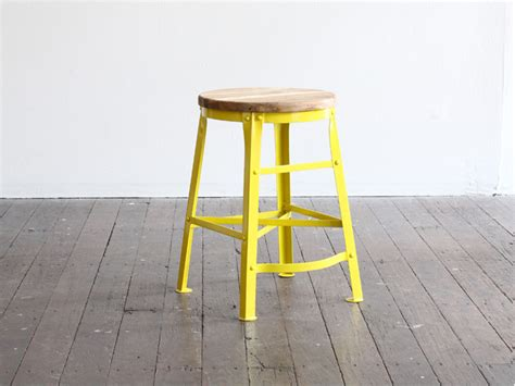 Cafe Stools by Colorful Scaffold Stools By Walk The Plank Design Visual