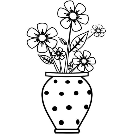 Free Drawing Of Flowers In A Vase Clipart Best Easy Drawings Sumgun Free Drawing For